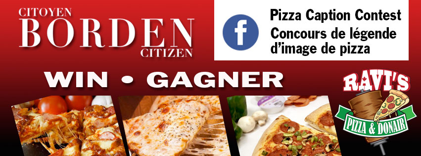 Pizza Caption Contest Borden Citizen