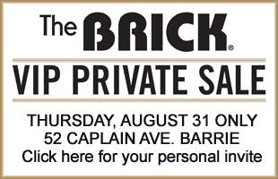 VIP Sale at the Brick